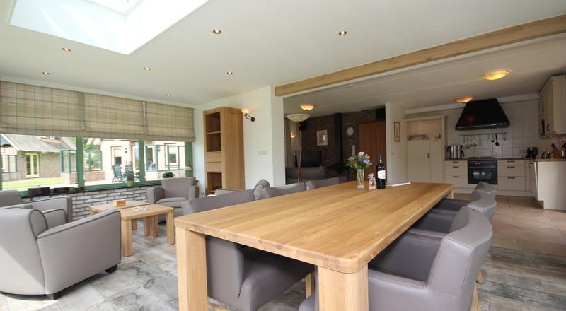 Luxe wellness villa het buitenhof 67 met serre op texel